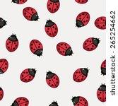 seamless pattern background... | Shutterstock .eps vector #265254662