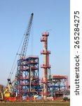 new refinery construction site... | Shutterstock . vector #265284275