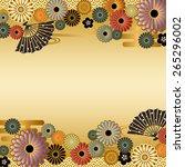 asian background | Shutterstock .eps vector #265296002