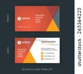 vector modern creative and... | Shutterstock .eps vector #265364225