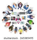 new business innovation... | Shutterstock . vector #265385495
