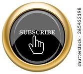 Subscribe Icon. Internet Button ...