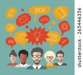 vector illustration of... | Shutterstock .eps vector #265446356