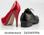 women's shoes and men's shoes ... | Shutterstock . vector #265469396