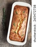 Savory Loaf Cake With Parmesan...