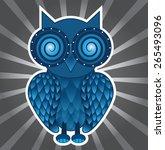owl | Shutterstock .eps vector #265493096