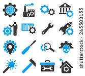 options and service tools icon... | Shutterstock .eps vector #265503155