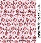 vintage floral wallpaper | Shutterstock .eps vector #265512446