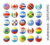 world flags round badges ... | Shutterstock .eps vector #265519592