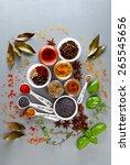 seasoning | Shutterstock . vector #265545656