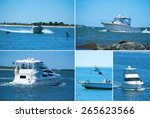 Large Format Boating Montage...