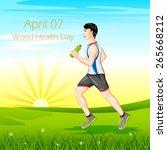 vector illustration of man...   Shutterstock .eps vector #265668212
