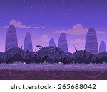 seamless night landscape  never ...