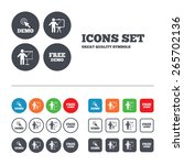 demo with cursor icon.... | Shutterstock .eps vector #265702136