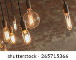 decorative antique edison style ... | Shutterstock . vector #265715366