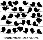 Cute Cartoon Style Bird...