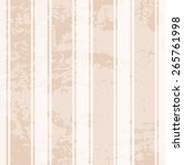 brown grunge pattern with thick ... | Shutterstock .eps vector #265761998