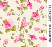 Seamless Pattern Of Siringa An...