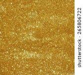 gold  seamless pattern  texture.... | Shutterstock .eps vector #265806722