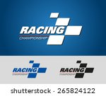 logo racing championship | Shutterstock .eps vector #265824122