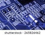 system  motherboard  computer... | Shutterstock . vector #265826462