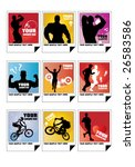 sport vector illustration   Shutterstock .eps vector #26583586
