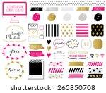 ultimate design elements blog... | Shutterstock .eps vector #265850708