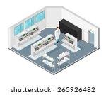 a vector illustration of an...   Shutterstock .eps vector #265926482