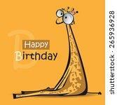 Happy Birthday Smile Giraffe...