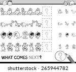 cartoon vector illustration of... | Shutterstock .eps vector #265944782