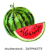 vector paint hand drawn picture ...   Shutterstock .eps vector #265946375