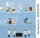vector illustrations of... | Shutterstock .eps vector #265959785
