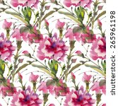 seamless pattern with... | Shutterstock . vector #265961198