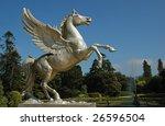 Statue Flying Horse Pegasus A...
