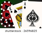 set of playing cards   rastered ... | Shutterstock . vector #26596825