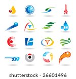 set of abstract elements for...