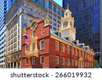 Boston Old State House Building ...