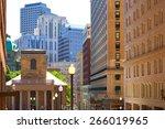 Boston Kings Chapel in Tremont st and School street Massachusetts USA