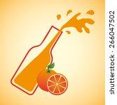 juice fruit design  vector... | Shutterstock .eps vector #266047502