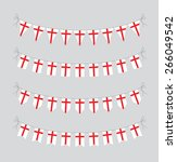 english bunting | Shutterstock .eps vector #266049542