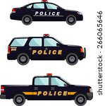 three variants of the police...