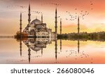 Sultanahmet Mosque Sunset