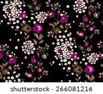 seamless flower pattern. vector ...
