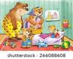 the three bears. a russian...   Shutterstock . vector #266088608