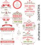 ornament decoration background... | Shutterstock .eps vector #266095346
