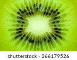 Colse Up Kiwi Fruit