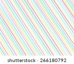 colorful stripe pattern for... | Shutterstock . vector #266180792