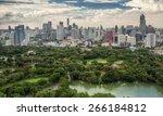 lumpinee garden and sathorn... | Shutterstock . vector #266184812