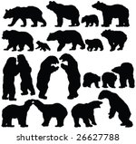 Bears Silhouette Collection  ...