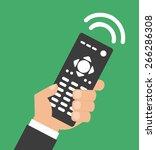 remote control design vector... | Shutterstock .eps vector #266286308